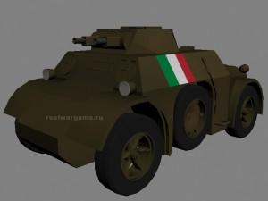 Бронеавтомобиль Autoblinda AB.40 производства Италия