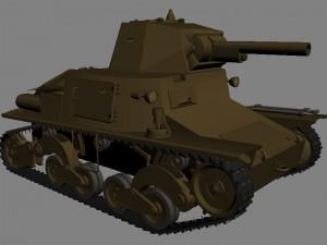 Легкий итальянский танк Carro Armato L6/40