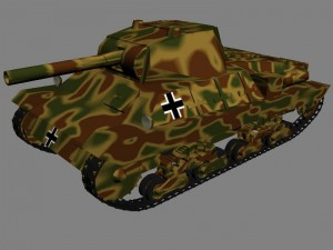 Итальянский танк Carro Armato P26-40