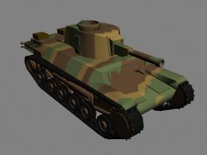 Новый юнит в РВГ (RWG) японский средний танк Chi-He (Чи-Хе)