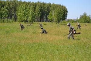 Фашистские захватчики подкрались к мирно спящему городу Уфа