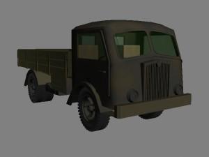 Итальянски 3-х тонный, средний грузовик, 4х2 Fiat 626 NLM