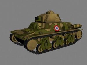 Французский танк Гочкисс H35 (Hotchkiss H35)