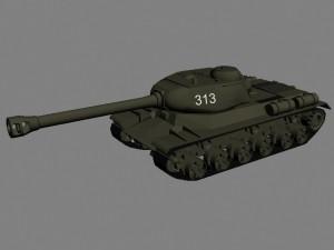 Советский тяжелый танк ИС-2
