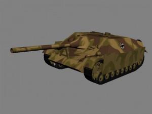 Самоходная артиллерийская установка Jagdpanzer IV