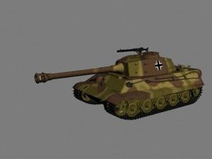 Немецкий тяжелый танк Королевский Тигр вариант B
