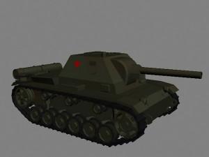 Самоходная установка СУ-76и. Новый юнит в РВГ