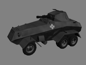 Немецкий бронеавтомобиль Sd.Kfz 231 (6-rad)