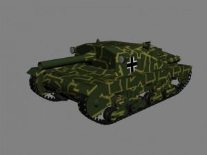 Итальянская самоходная артиллерийская установка Semovente da 105-25