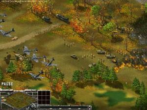 Противостояние 3 - Sudden Strike. Американцам опять досталось от Люфтваффе