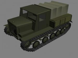 Артиллерийский тягач Я-12 в RWG
