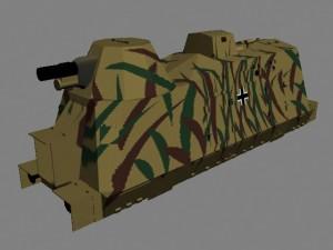 Броневагон артиллерийский